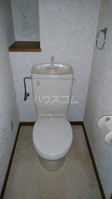 グランドコート鴻の巣 305号室のトイレ