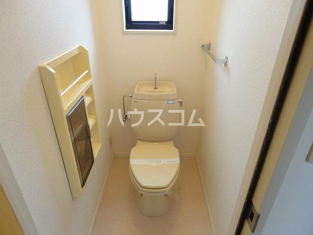 メイプル笹川 202号室のトイレ