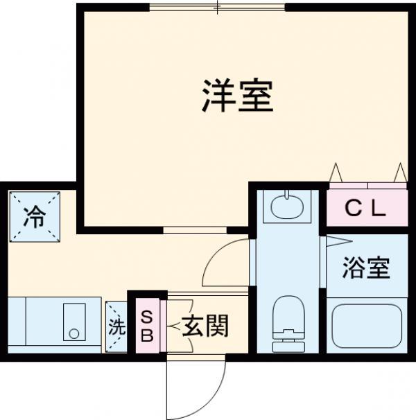 (仮称)赤塚2丁目新・102号室の間取り