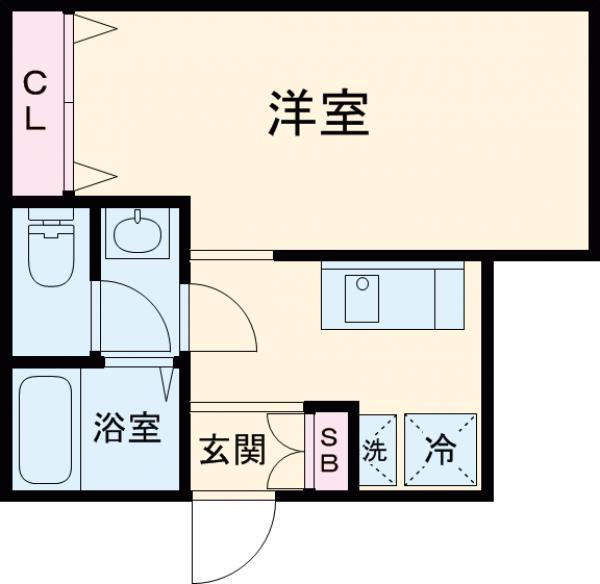 (仮称)赤塚2丁目新・103号室の間取り