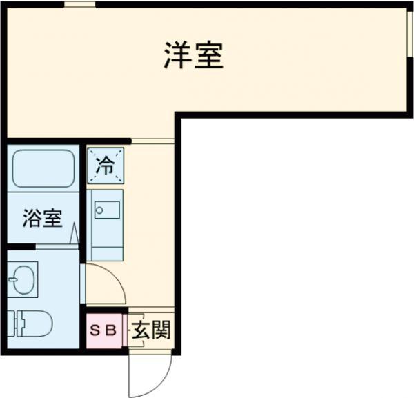 (仮称)赤塚2丁目新・104号室の間取り