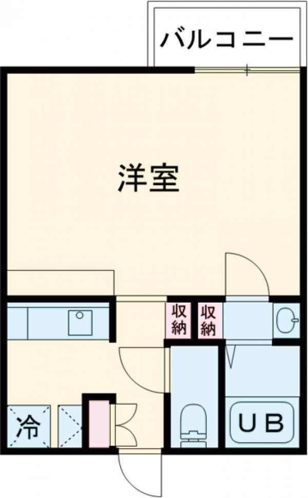 (仮称)赤塚2丁目新・202号室の間取り