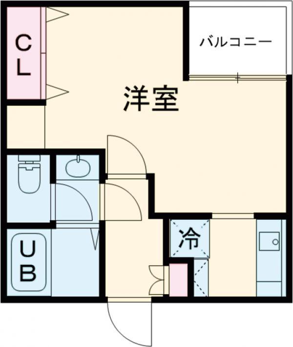 (仮称)赤塚2丁目新・203号室の間取り