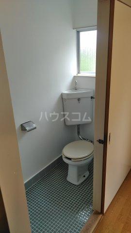 第六美多摩 103号室のトイレ
