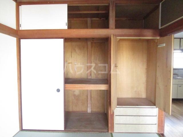 秋元コーポ A号室の収納