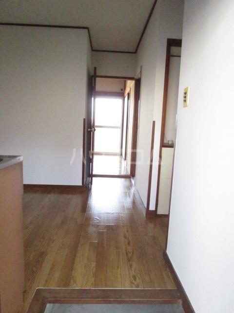 秋元コーポ A号室の玄関