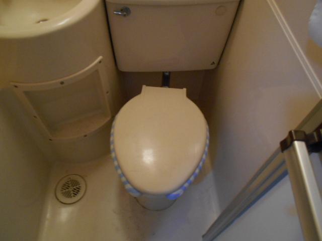 ホワイトウイングI・M 106号室のトイレ