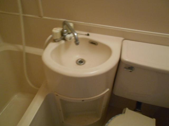 ホワイトウイングI・M 106号室の洗面所