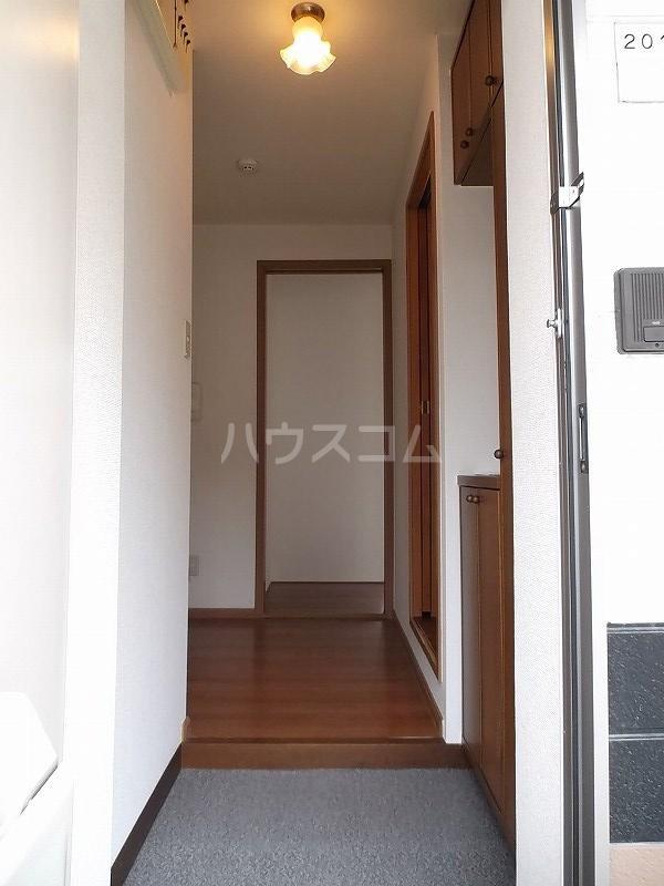 エクセルハイツ原山 02010号室の玄関