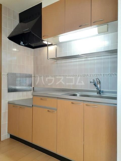 ミーティスパルース 03030号室のキッチン