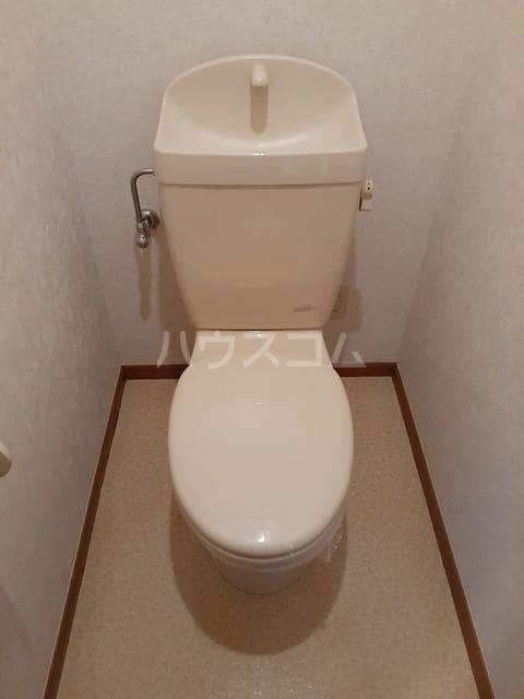 ミーティスパルース 03030号室のトイレ