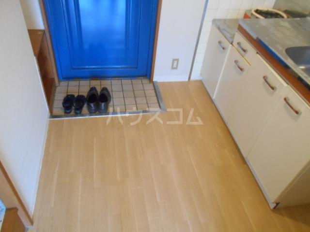 パティオ篠 407号室のキッチン