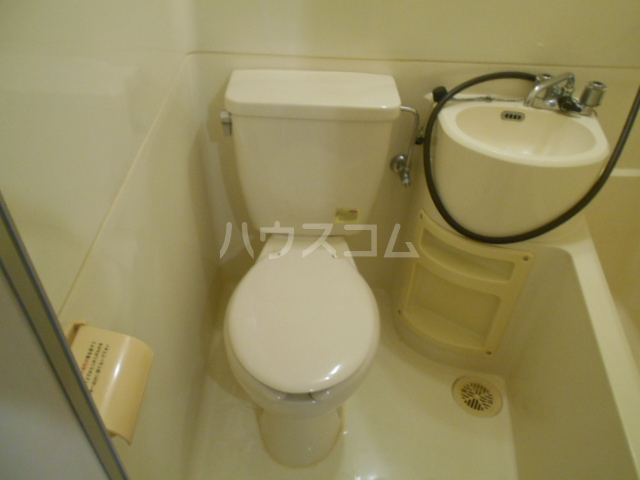 パティオ篠 407号室のトイレ