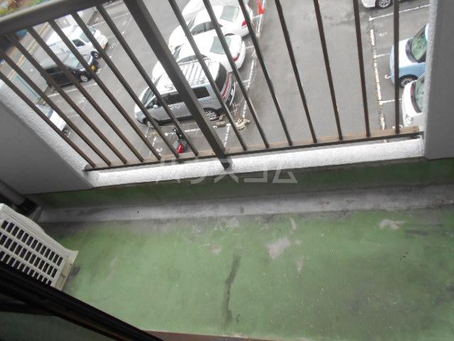 パティオ篠 407号室のバルコニー