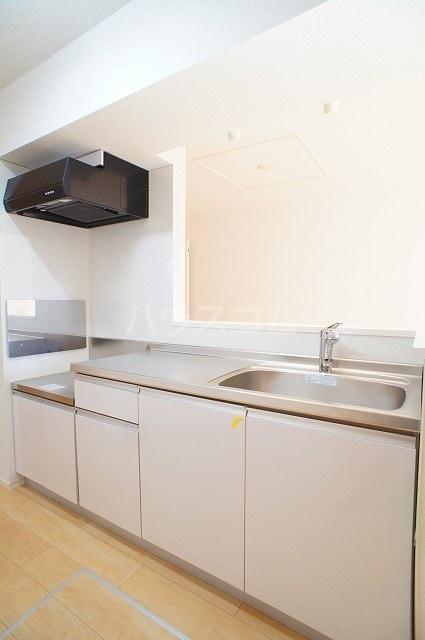 ルミエール マンション Ⅲ 01030号室のキッチン