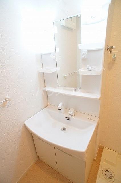 ルミエール マンション Ⅲ 01030号室の洗面所