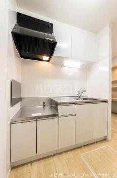 グリーン・コートⅡ 01010号室のキッチン