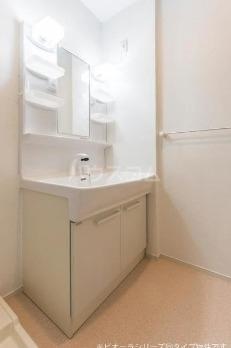 グリーン・コートⅡ 01010号室の洗面所