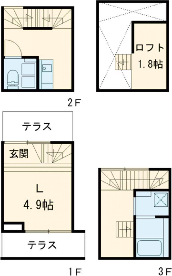 Maison Neko・A号室の間取り
