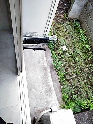 フラット用賀 104号室の庭
