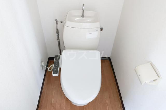 ラフィネ西八王子 202号室のトイレ