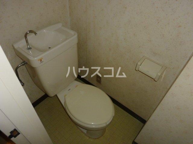 ハイツ相沢 301号室のトイレ