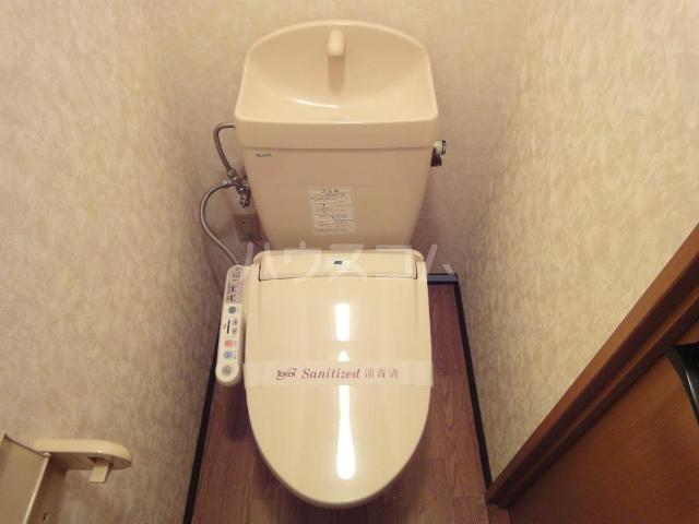 グレイスヴィラ 201号室のトイレ