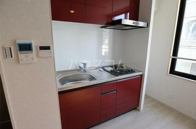 PINO東中延 201号室のキッチン