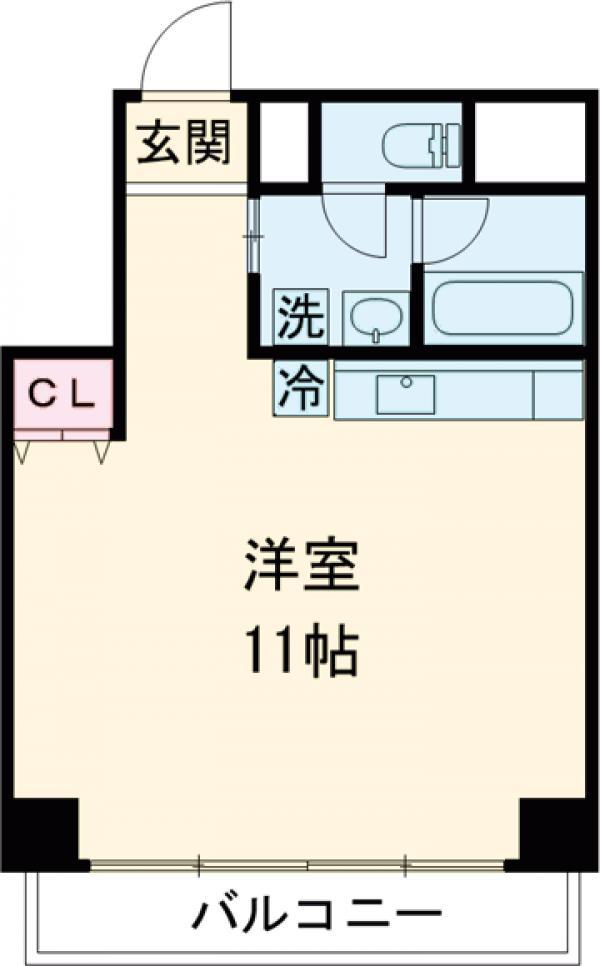 新幸倉・101号室の間取り