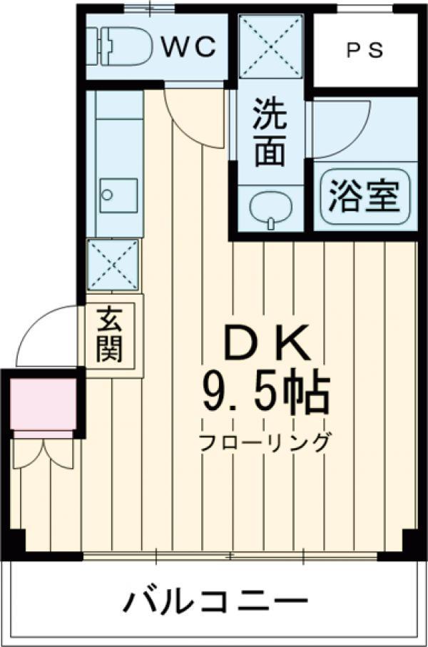 新幸倉・201号室の間取り