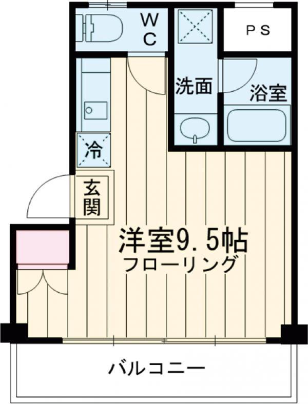 新幸倉・203号室の間取り