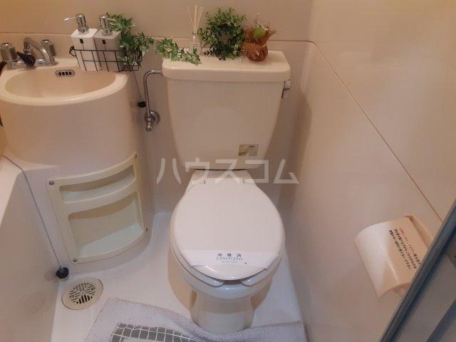 フローライト 407号室のトイレ
