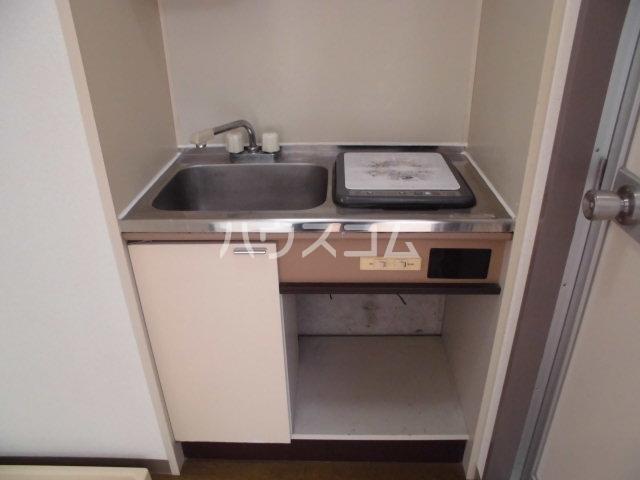 グレーシー西ノ京 402号室のキッチン