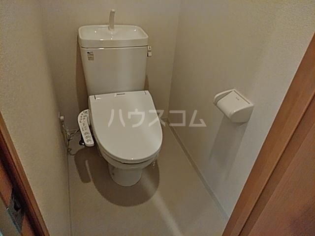 Blois Cerezo 302号室のトイレ