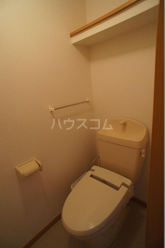 ライフサークルパート12 02010号室のトイレ