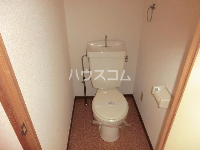 Surplus Three平和 101号室のトイレ