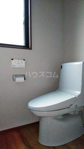 ときわ台ハイツB 102号室のトイレ