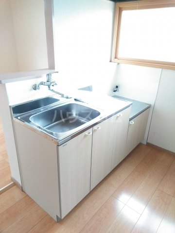 ウサミハイツA 1号室のキッチン