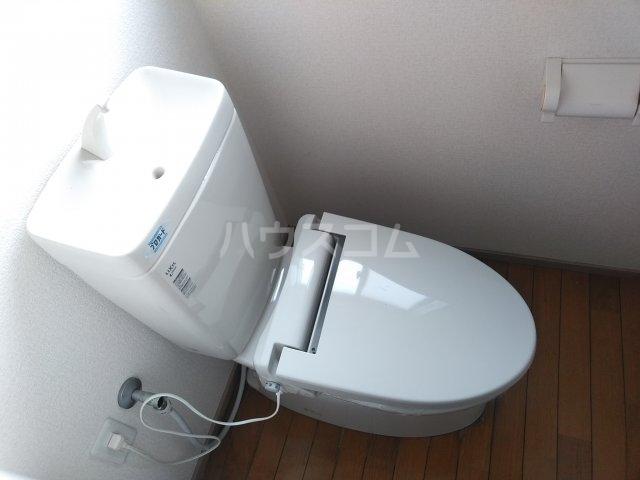 ウサミハイツA 1号室のトイレ