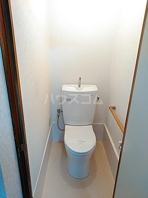オアシスナイン 202号室のトイレ