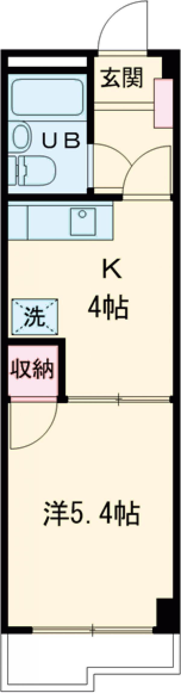 メゾンヤマザキ・207号室の間取り