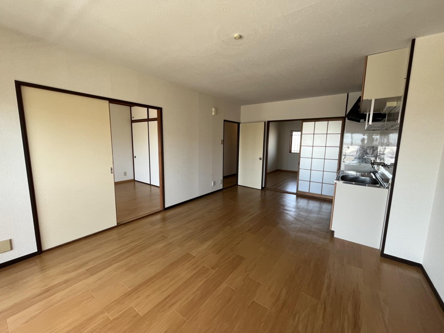 グリーンハイツ横井 03030号室のキッチン