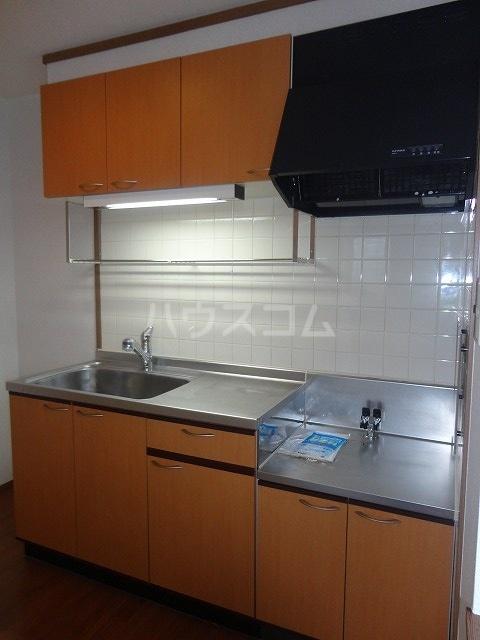 エントピア名和北B 02010号室のキッチン