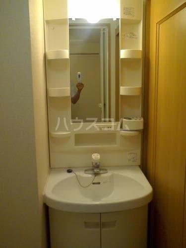 コーポラスぐしけん 02020号室の洗面所