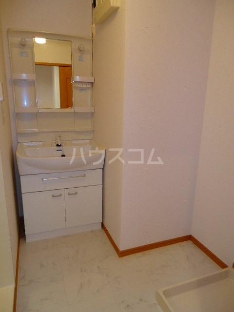 サンラフレシ-ル 02010号室の洗面所