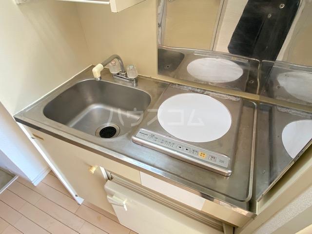 ダイアパレスアクティブシティ本厚木 407号室のキッチン