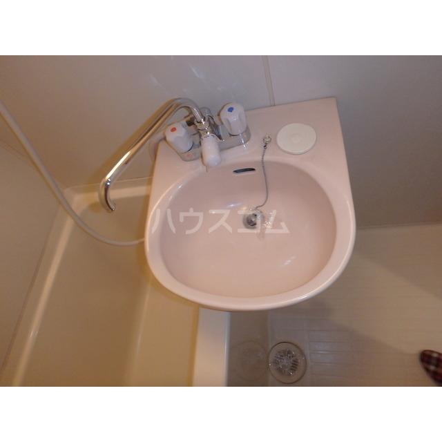 フリーダムA棟 205号室の洗面所