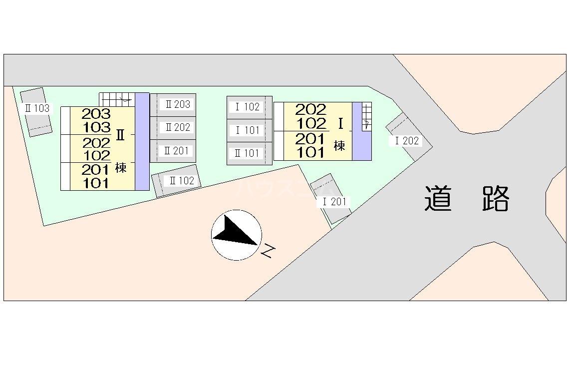 ラゼル山王Ⅱ 02030号室のその他
