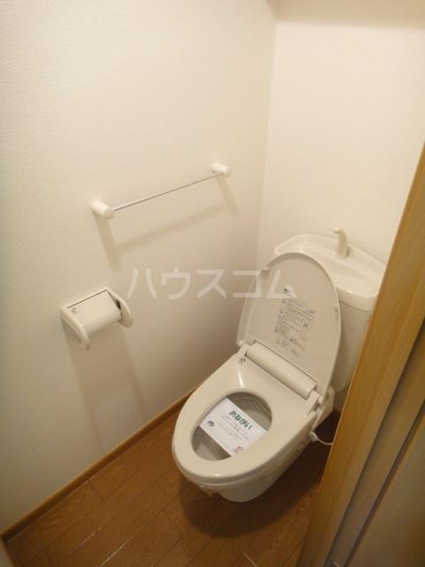 ラゼル山王Ⅱ 02030号室のトイレ