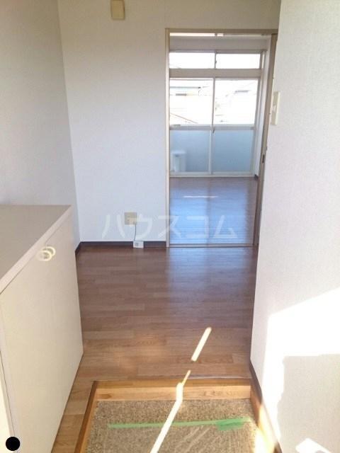 ニューシティ平田B 01010号室の玄関